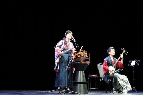 三味線&民謡コンサート」の開催   在モーリシャス日本国大使館